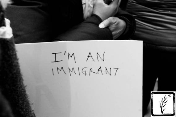 New York, B&W #Photograph, #haiku, #nobannowall, #womensmarch, protest, resist, fine art, photo print, #nastywomen, wall art, home decor