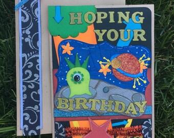 Happy Birthday Blank Verse Greeting Card, 5x7 Card,  Birthday Greeting Card, Greeting Card With Matching Envelope, Specialty Birthday Card
