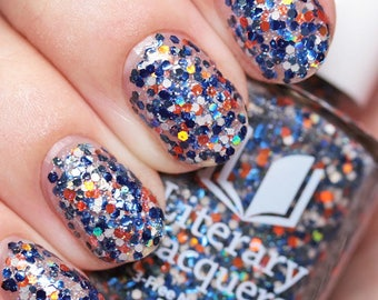 NEW! The Best You Have - Multicolored Glitter Nail Polish