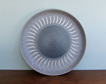 Echo Blue Salad Plates by Denby Langley Stoneware, Made in England, 2 Available Salad Plates