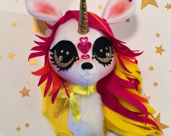 Pixie the Unicorn Faux Taxidermy Trophy