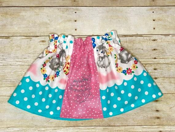 Girls Bunny Skirt - Size 2 Easter Skirt