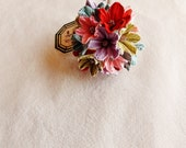 Wildflower mix Itty Bitty Blossom bouquet handmade millinery flower corsage