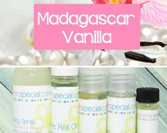 Madagascar Vanilla Perfume, Perfume Spray, Body Spray, Perfume Roll On, Perfume Oil, Dry Oil Spray, You Choose the Product