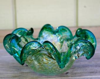 Murano Venetian Glass Bowl Italy