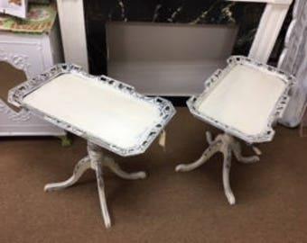 "Vintage ""Tray"" Tables"