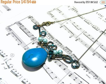 On Sale Turquoise Bib Necklace Jewelry for Women Wearable Art Most Popular Jewelry