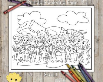 Firefly Printable Coloring Page