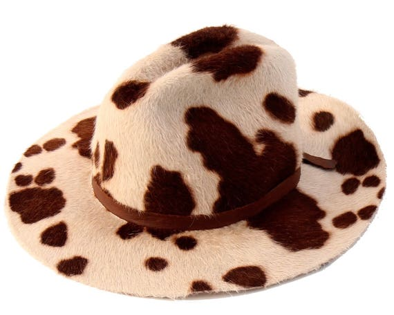 Gorgeous image with printable cow hat