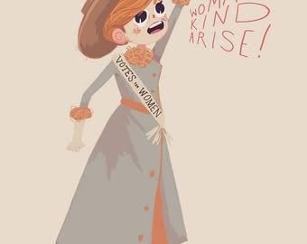 Womankind Arise - Print