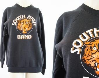 South High Band / Band Camp / Sweatshirt / Unisex / Top / Knit / Fleece / Men's / Women's / Retro