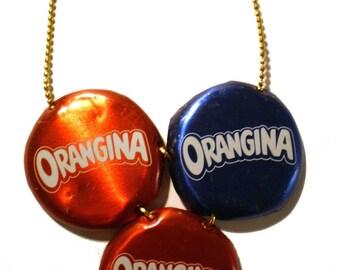 Berlin necklace * TRIO * capsules #11 Orangina