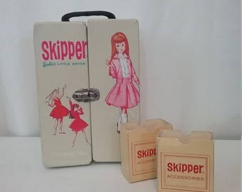 Vintage Skipper Carrying Case Accessory Case Barbie's Little Sister
