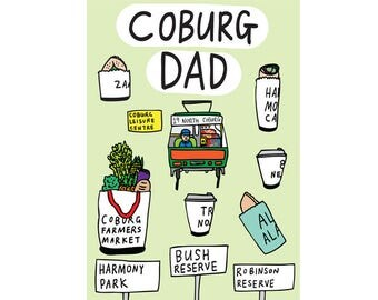Father's Day Card - Coburg Dad