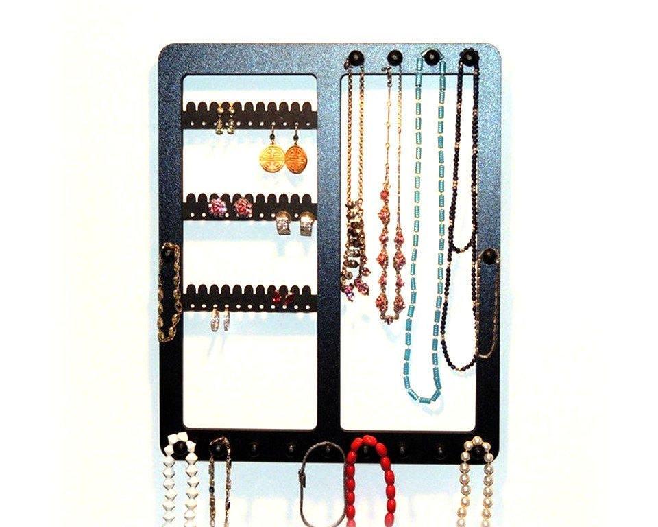 earring holder wooden earring rack necklace rack earring