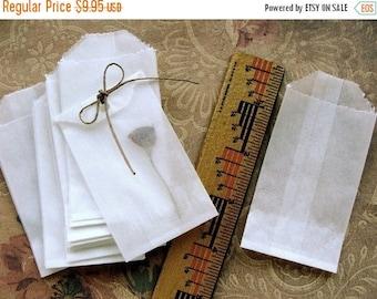 ONSALE 50 Sweet Little Glassine Bags Tiny Gift Bag