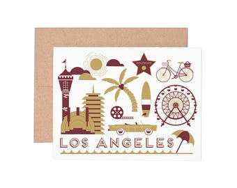 Boxed Cards - Los Angeles Letterpress Greeting Cards - Boxed Set | Blank Cards | All Occassion
