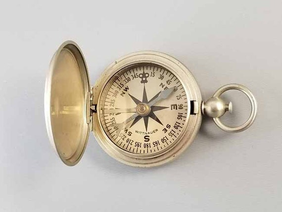 WW2 vintage Wittnauer US Army Corps of Engineers military compass m317
