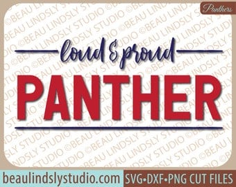 Panther SVG, Panther Team SVG, Team Sport SVG File, Any Sport svg, Football Mom svg, svg File For Silhouette, svg File For Cricut Project