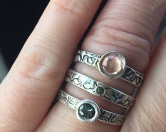 Sample sale . Your choice of sapphire ring size 6