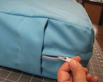 Custom lising for Bryant B - set of Camper Cushion Covers for dinette - with zipper - made to order - you provide fabric