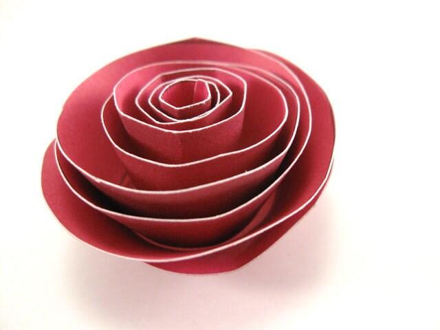 DIY Tutorial: Making Paper or Cardboard Flowers