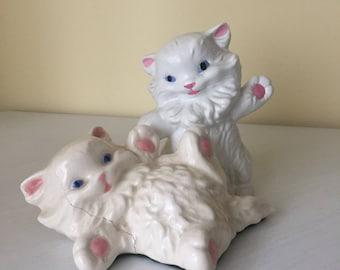 1960s Cute Kitty Friends Louis Wain-esque