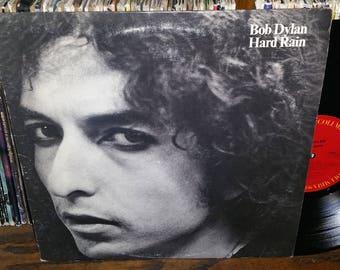 Bob Dylan Hard Rain Vintage Vinyl Record