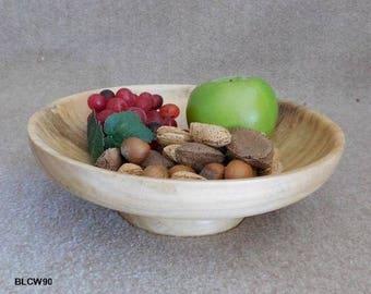 Lovely Cottonwood Pedestal Bowl