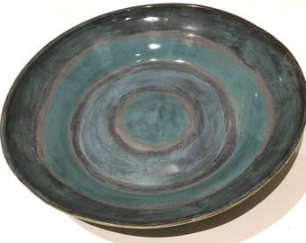 Item 316 Potter's Choice Blue and Green Bowl