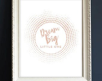 Baby Gift | Rosegold | Farmhouse | Nursery Decor | Digital File Delivery