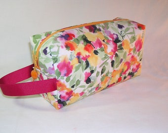 Floral Wish Project Bag