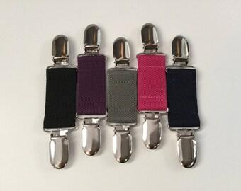 Elastic Cinch Clip - Elastic Baby and Toddler Belts - Cinch Belt - Clip Belt - Pants Waist Tightener - You CHOOSE the Print