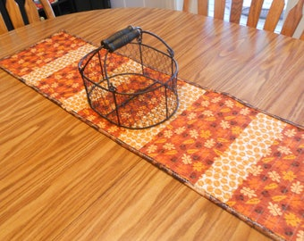 Quilted Fall Table Topper