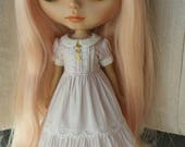 Babydoll dress for blythe - Lavender Water