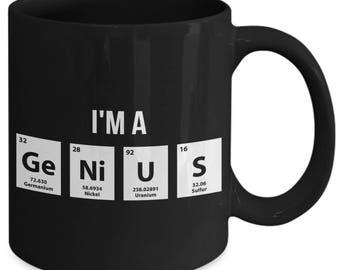 I'm A Genius Periodic Table Elements Coffee Mug