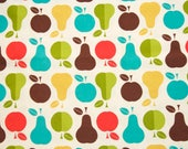 Apples & Pears by Chester Cotton Fabric - 1 yard