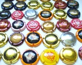 Reserved for Sommer 63 Champagne Bottle Caps Supply Tops for Repurposing beading and crafting