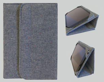 iPad Cover Hardcover, iPad Pro Case Cover, iPad Case, iPad Mini Cover, iPad Mini Case, iPad Air Case, iPad 2 3 4 Blue Herringbone