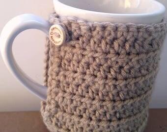 Crochet Mug Warmer, Crochet Mug Cozy, Coffee Mug Holder, Coffee Mug Warmer, Crochet Mug Hug, Coffee Mug Cover, Coffee Cozy, Mug Warmer