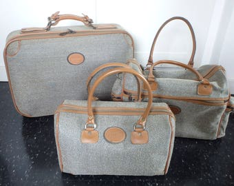 Vintage luggage set | Etsy
