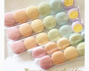 Etsy Pretend food Felt food Play food  Tokyo Kawaii Sweets Macaroon Spring Colored (6pc)
