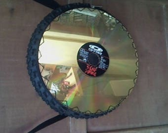 Bag tire disk c video diversion d recycling collector's item
