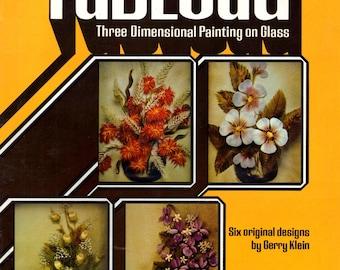Tableau II en trois dimensions de la peinture sur Vase en verre coquelicots Bouquet de Roses sauvages champ pâquerettes violettes chrysanthème Craft modèle dépliant