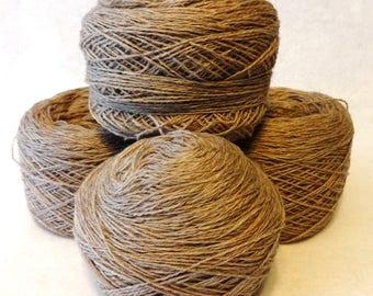 Stash Sale, Sale Wool Yarn, Wool Yarn, Grey Pink Wool Yarn, Sale Yarn - Stash Sale #13