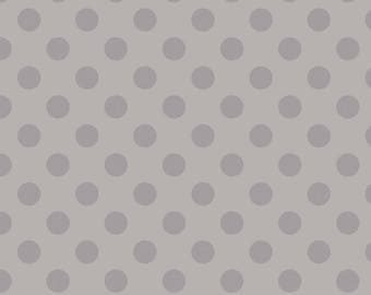 Gray Tone on Tone Medium Dot by Riley Blake Designs