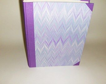 Marbled paper  photo album,  Hand bounded Florentine style -  50 sheets + tissue paper -   cm 23 x cm 32 - 1030