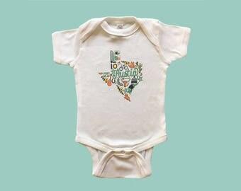 Austin texas onesie baby bodysuit