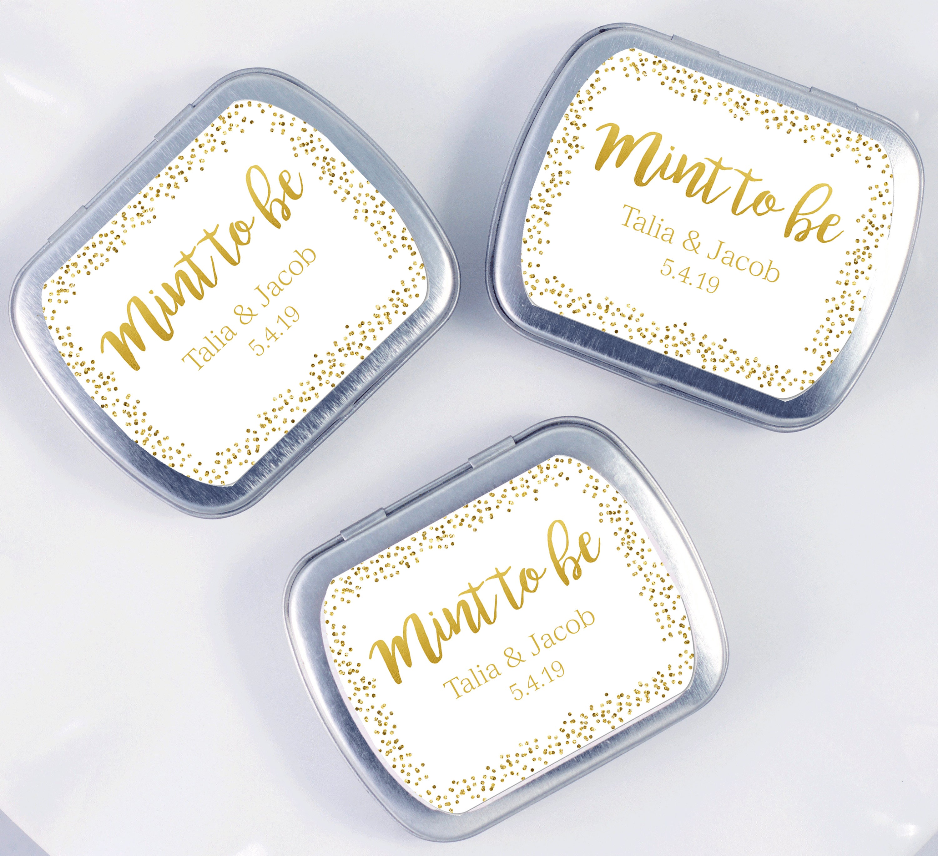 Wedding Favor Mint Tins | Giftwedding.co