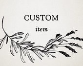 Custom Listing For Barb